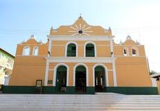Brasilien, Santarem /Alter tun Chao: Historische katholische Kirche (1896) lizenzfreie stockfotografie