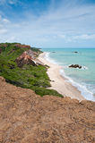 Brasilien-Strand Lizenzfreie Stockfotos