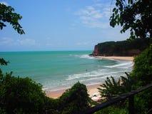 Brasilien strand Royaltyfri Bild
