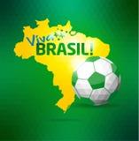 Brasilien symbolsuppsättning Fotografering för Bildbyråer