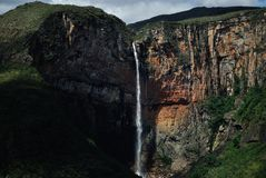 Brasilien vattenfall Tabuleiro Royaltyfri Bild