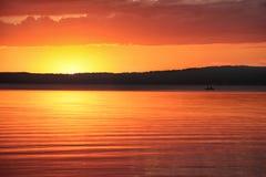 Braslav湖23 07 2017年 免版税图库摄影