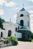 Braslav, BIELORRUSIA - 25 de julio de 2008: La iglesia de St Anne en el pueblo Mosar Fotografía de archivo