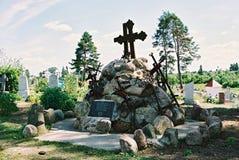 Braslav, BIELORRUSIA - 25 de julio de 2008: La iglesia de St Anne en el pueblo Mosar Fotografía de archivo libre de regalías