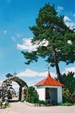 Braslav, BIELORRUSIA - 25 de julio de 2008: La iglesia de St Anne en el pueblo Mosar Imagen de archivo libre de regalías