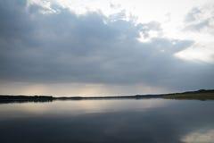 Braslav jezior linia horyzontu Zdjęcia Royalty Free