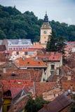 Brasov在罗马尼亚 库存图片
