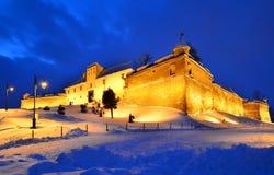 brasov城堡罗马尼亚transylvania 免版税库存照片