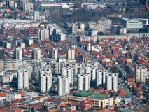 brasov城市新的transylvania 免版税库存图片