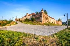 brasov堡垒罗马尼亚 免版税库存照片