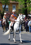 brasov庆祝城市日罗马尼亚 免版税库存照片