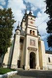 brasov教会尼古拉斯老圣徒 库存照片
