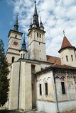 brasov教会尼古拉斯老圣徒 免版税库存图片