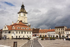 Brasov � old city center � Romania Stock Images