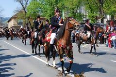 brasov świętowania miasta dzień Romania Fotografia Stock