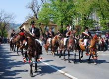 brasov świętowania miasta dzień Romania Obraz Stock
