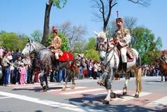 brasov świętowania miasta dzień Romania Obrazy Royalty Free