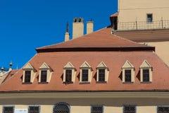 brasov κέντρο παλαιό στοκ φωτογραφία με δικαίωμα ελεύθερης χρήσης