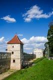 Brasov, укрепленный город Румыния стоковое изображение rf