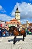 Brasov 777. aniversary, Juni Parade, Rumänien Stockbilder