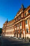 Brasov administration in Romania, neobaroque architecture Royalty Free Stock Photo