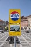 Brasov, advertising Stock Images