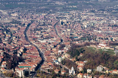 Brasov Aerial View stock photos