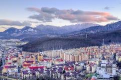 Brasov. A beautiful day in Brasov, Romania Stock Image