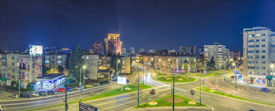 Brasov. A beautiful night in Brasov, Romania Royalty Free Stock Photos