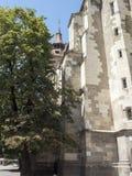 Brasov - Black Church royalty free stock image