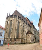 Brasov black church Royalty Free Stock Image