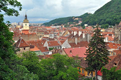Brasov (Brasso, Kronstadt) city, Romania Royalty Free Stock Photo