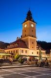 Brasov, casa del consejo Foto de archivo libre de regalías