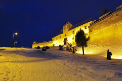 Brasov Citadel 3. Winter at the Brasov citadel Stock Images