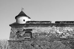 Brasov citadel Royalty Free Stock Images