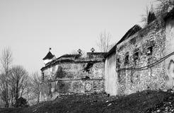 Brasov citadell Royaltyfria Bilder