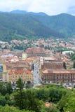Brasov citadell, Rumänien royaltyfria bilder