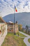 Brasov citadell, Rumänien arkivbild