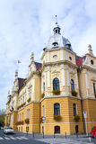 Brasov City. City Hall from Brasov,Romania stock images