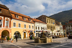 Brasov city Royalty Free Stock Photo