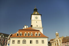 Brasov city center Royalty Free Stock Image