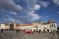 Brasov - the city center Royalty Free Stock Images