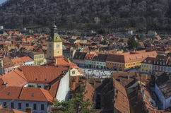 Brasov city Council Square stock photo