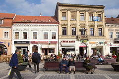 Brasov city Stock Photos