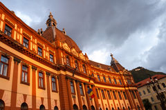 Brasov City Hall Stock Photography