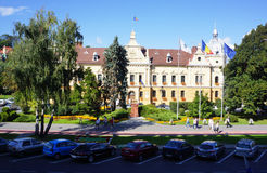 Brasov City Hall Royalty Free Stock Images