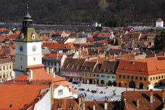 Brasov city, Romania Stock Photo