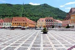 Brasov City, Romania. City in Romania and the administrative centre of Brașov County Royalty Free Stock Image