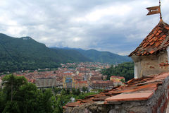 Brasov City, Romania. City in Romania and the administrative centre of Brașov County Stock Images
