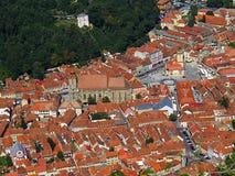 Brasov. City in Romania and the administrative centre of Brașov County Stock Photo
